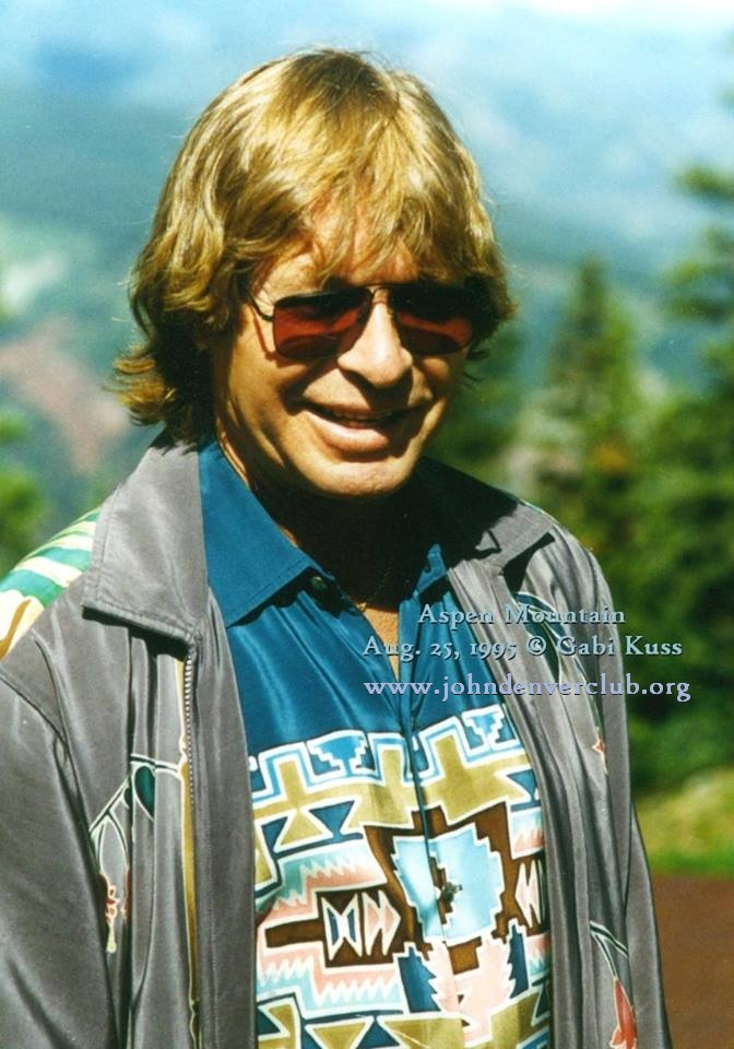 John Denver on Aspen Mountain
